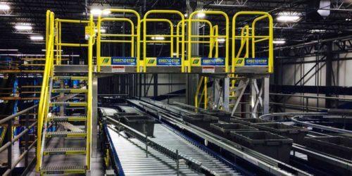 Reduce Waste Raised Walkway Service Platform